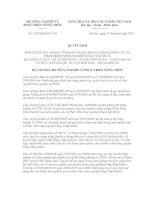 Quyết định số 1133/QĐ-BNN-XD potx