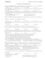 Tài liệu ôn thi đại học môn vật lý
