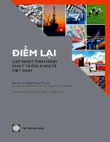 Điểm lại cập nhật tình hình phát triển kinh tế Việt NAM pot