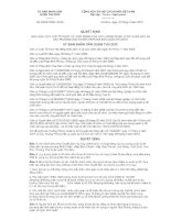 Quyết định số : 03/2012/QĐ-UBND potx