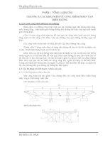 Bài giảng tổng luận cầu - Bài giảng tổng luận cầu pptx