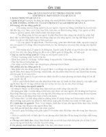 Ôn Thi Môn Quản lý Sản Xuất Trong Chăn Nuôi pdf