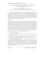 Báo cáo khoa học: Đánh giá trữ lượng nước dưới đất vùng côn đảo bằng phương pháp mô hình pptx
