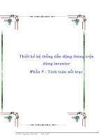Thiết kế hệ thống dẫn động thùng trộn Dùng inventor phần 5 Tính toán nối trục doc