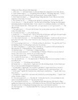 Những câu tiếng Anh giao tiếp hàng ngày docx