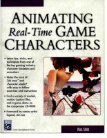 Animating Real-Time Game Characters pptx