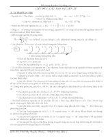Đề cương hóa học 1O nâng cao doc