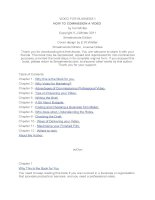 VIDEO FOR BUSINESS 1 HOW TO COMMISSION A VIDEO by Val Whiteter Copyright V.J.Whitter 2011 Smashwords pdf