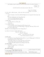 Giáo án nhà trẻ - CHỦ ĐIỂM: MẸ VÀ NHỮNG NGƯỜI THÂN YÊU CỦA BÉ (7 TUẦN) pdf