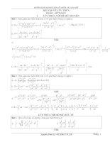 Hướng dẫn giải bài tập lũy thừa và logarit docx