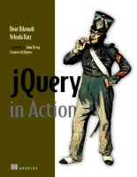 jQuery in Action ppt
