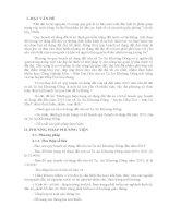 """Báo cáo đề tài """"Đánh giá hiện trạng sử dụng đất đai so với kế hoạch quy hoạch sử dụng đất đến năm 2015 của xã Tạ An Khương Đông – huyện Đầm Dơi – tỉnh"""