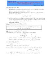 Phương pháp tìm giá trị lớn nhất, giá trị nhỏ nhất của biểu thức chứa 2 biến docx