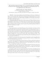 Báo cáo khoa học: Môi trường trầm tích khu vực cầu Kinh An Hạ – huyện Bình Chánh – Tp. Hồ Chí Minh trong pleistocen muộn Holocen và các khoáng sản liên quan potx