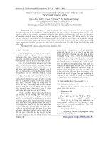 Báo cáo khoc học: Phương pháp Heuristic tối ưu phân bố công suất trong hệ thống điện ppt