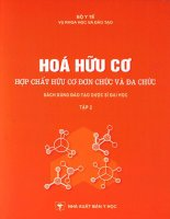 Hóa hữu cơ - hợp chất hữu cơ đơn chức và đa chức_tập 2 docx