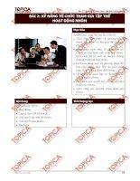Bài 2: Kỹ năng tổ chức tham gia hoạt động nhóm potx
