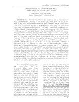 Báo cáo khoa học: Họa phẩm tộc người trước thế kỷ 17 trên mảnh đất Nam Bộ (Việt Nam). pot
