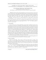 Báo cáo khoa học: Nghiên cứu tách thu hồi Ni2+ bằng dung dịch Di-(2-ethylhexyl) phosphoric axit (HDEHP) trong N-heptan docx