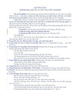 Hướng dẫn Trình bày đồ án , luận văn tốt nghiệp