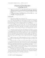 Công ước của Liên Hợp Quốc về Quyền trẻ em doc