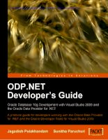 ODP.NET Developer''''s Guide: Oracle Database 10g Development with Visual Studio 2005 and the Oracle Data Provider for .NET pot