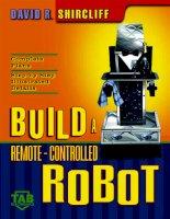 BUILD A REMOTECONTROLLED ROBOT pptx