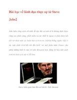 Bài học về lãnh đạo thực sự từ Steve Jobs2 pot