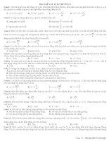 BÀI TẬP VẬT LÍ 12 CHƯƠNG I pdf