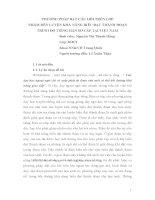 BÁO CÁO KHOA HỌC: PHƯƠNG PHÁP ĐẶT CÂU HỎI TRÊN LỚP NHẰM RÈN LUYỆN KHẢ NĂNG BIỂU ĐẠT THÀNH ĐOẠN TRÌNH ĐỘ TIẾNG HÁN SƠ CẤP TẠI VIỆT NAM ppt