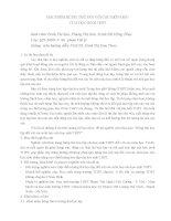 BÁO CÁO KHOA HỌC: ĐẶC ĐIỂM HỨNG THÚ ĐỐI VỚI CÁC MÔN HỌC CỦA HỌC SINH THPT pot