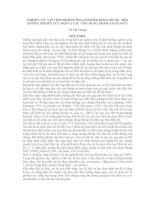 Nghiên cứu tập tính dinh dưỡng (FEEDING BEHAVIOUR) - Một hướng nghiên cứu mới của các ứng dụng trong chăn nuôi pdf