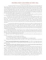 PHƯƠNG PHÁP LÀM PHÓNG SỰ ĐIỀU TRA pdf
