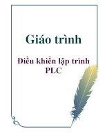 Giáo trình: Điều khiển lập trình PLC ppt