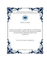 Đề tài: Nâng cao chất lượng dịch vụ tín dụng của Ngân hàng TMCP các doanh nghiệp ngoài quốc doanh Việt Nam (VPBank) pdf