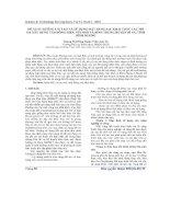 Báo cáo khoa học: Đề xuất hướng cải tạo và sử dụng mặt bằng sau khai thác các mỏ đá xây dựng Tân Đông Hiệp, núi Nhỏ và Bình Thung huyện Dĩ An, tỉnh Bình Dương pot