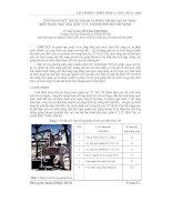Báo cáo khoa học: Ứng dụng kỹ thuật insar vi phân trong quan trắc biến dạng mặt đất khu vực Thành Phố Hồ Chí Minh pdf