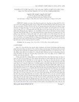 Báo cáo khoa học: Nghiên cứu chế tạo xúc tác quang trên cơ sở vật liệu TiO2-SiO2 và ứng dụng trong xử lý nước nhiễm Phenol potx