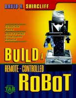 BUILD A REMOTECONTROLLED ROBOT potx