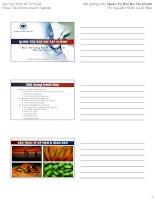 Bài giảng môn Quản Trị Rủi Ro Tài Chính TS. Nguyễn Khắc Quốc Bảo pdf