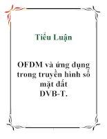 Tiểu Luận: OFDM và ứng dụng trong truyền hình số mặt đất DVB-T doc