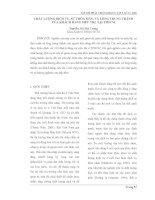 BÁO CÁO KHOA HỌC: CHẤT LƯỢNG DỊCH VỤ, SỰ THỎA MÃN, VÀ LÒNG TRUNG THÀNH CỦA KHÁCH HÀNG SIÊU THỊ TẠI TPHCM doc