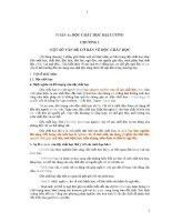 Giáo trình độc chất học tập 1 docx