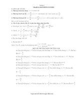 Chương 1 : vấn đề 1: Dao động cơ học ppt