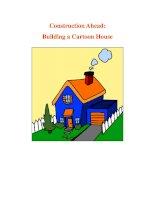 Construction Ahead: Building a Cartoon House pdf