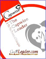 The Capwise Leader & The Ten Powers of Principles doc