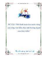 NGHIÊN CỨU KHOA HỌC-ĐỀ TÀI :