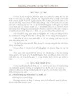 Bài giảng Kỹ thuật Đại cương (PGS.TS. Lê Bá Sơn) - Chương 2 CƠ HỌC potx