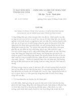 Chỉ thị Số: 11/CT-UBND VỀ TĂNG CƯỜNG CÔNG TÁC QUẢN LÝ MÔI TRƯỜNG KINH DOANH DU LỊCH TRÊN ĐỊA BÀN TỈNH QUẢNG NINH pdf