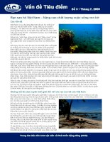 Rạn san hô Việt Nam – Nâng cao chất lượng cuộc sống ven bờ pdf